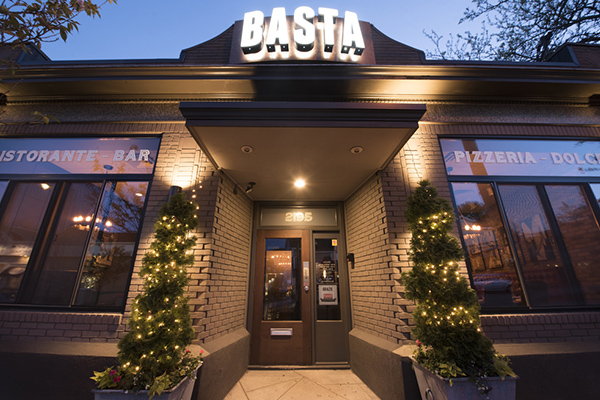 Basta Italian Restaurant near Providence, Rhode Island Bed and Breakfast
